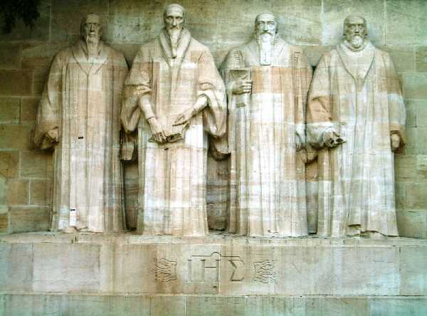 Reformers Wall -  Farel Calvin Beza Knox
