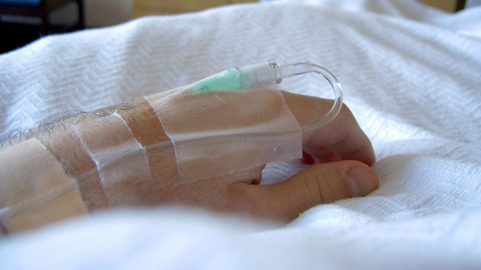 Hand in Hospital